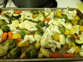Fall Roasted Vegetables