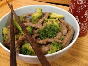 Stir-Fry Beef andBroccoli